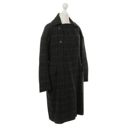 Marni Coat with plaid pattern