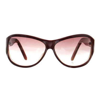Calvin Klein Bruin zonnebril