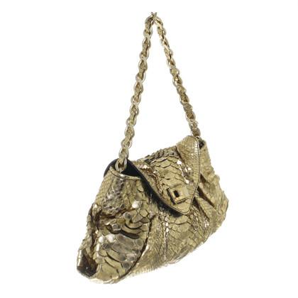 Zagliani Handtasche in Goldfarben