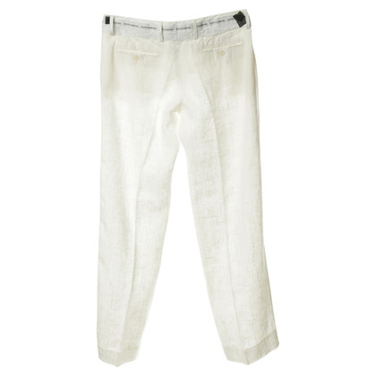 Dolce & Gabbana Linen trousers in off-white