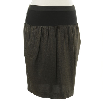 By Malene Birger skirt with gold shimmer