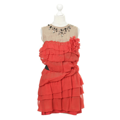 Lanvin for H&M Red jewel embellished dress