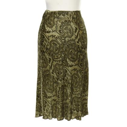 Patrizia Pepe Velvet skirt pattern