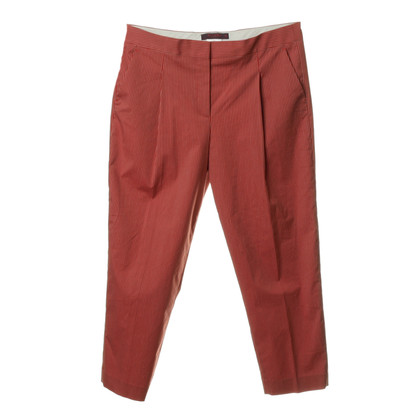 Etro Striped pants with pleats