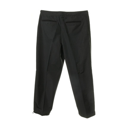 Jil Sander Trousers with creases and tunnel trains