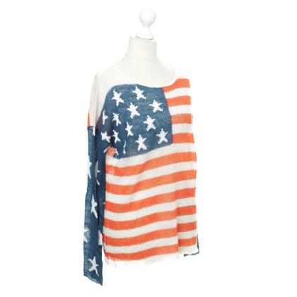 Wildfox Trui met een Amerikaanse vlag motief