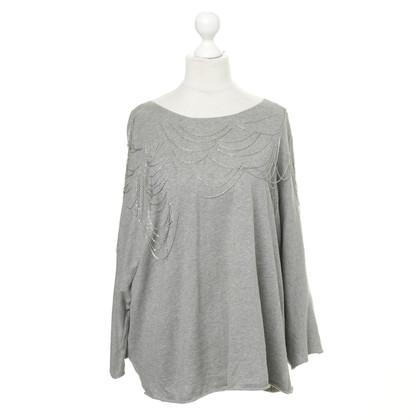 Gestuz Pullover mit Ketten-Besatz
