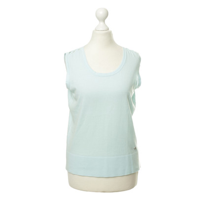 Rena Lange Sleeveless sweaters in turquoise