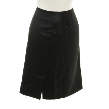 Balenciaga skirt in satin look
