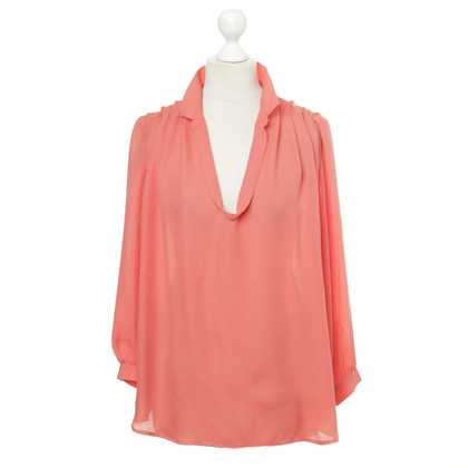 Filippa K Silk blouse in Corallfarben