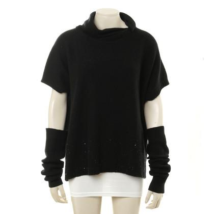 Fabiana Filippi Cashmere trui in zwart