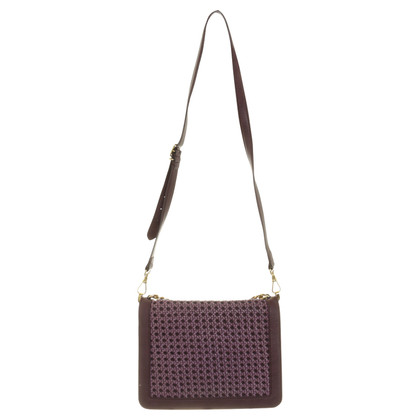 Stella McCartney Shoulder bag with Wicker-detail