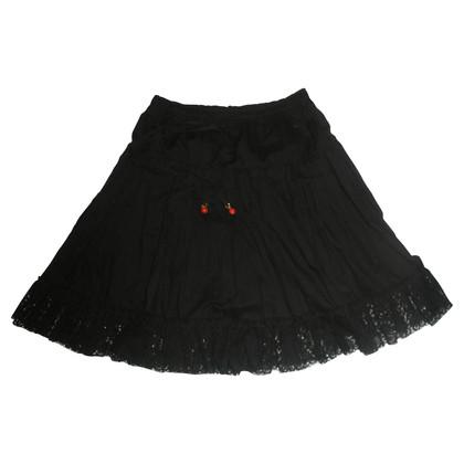 Sandro Black skirt