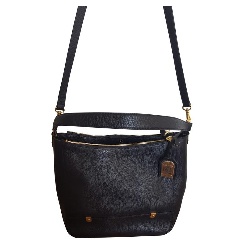 ralph lauren schwarze handtasche second hand ralph lauren schwarze handtasche gebraucht kaufen. Black Bedroom Furniture Sets. Home Design Ideas