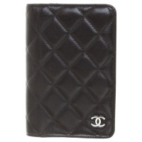 Chanel Quilted leather pouch