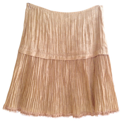 Ermanno Scervino Golden skirt