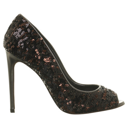 Dolce & Gabbana Peep-toes with sequins