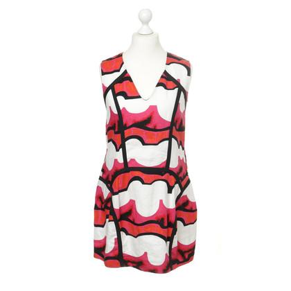 Mani Linnen jurk met patroon