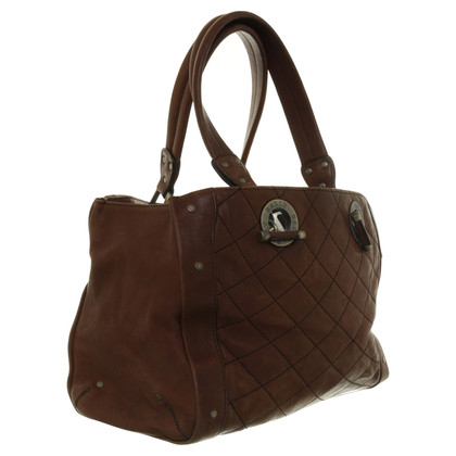 Bally Quilted pattern handbag