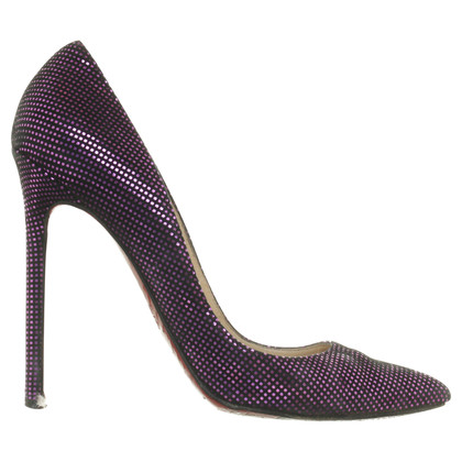 """Christian Louboutin """"Metal Lamee Pigalle"""""""