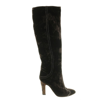 Bottega Veneta Boots made of velvet
