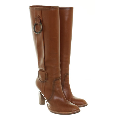 Hugo Boss Boots in Cognac