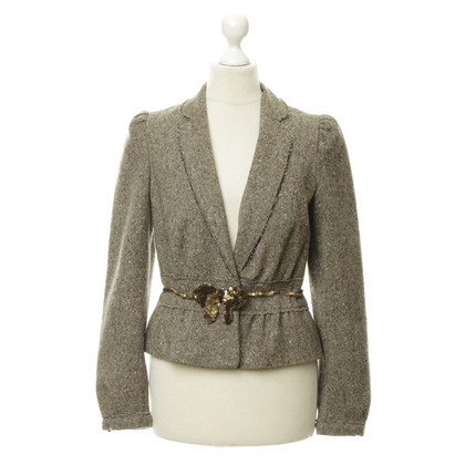 Moschino Blazer with sequin trim