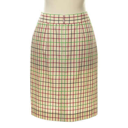 Cesare Paciotti skirt with checked pattern
