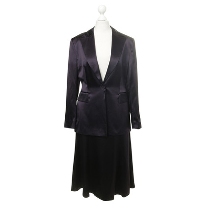 Laurèl Silk costume purple