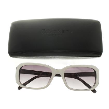 Calvin Klein Bi-gekleurde zonnebril