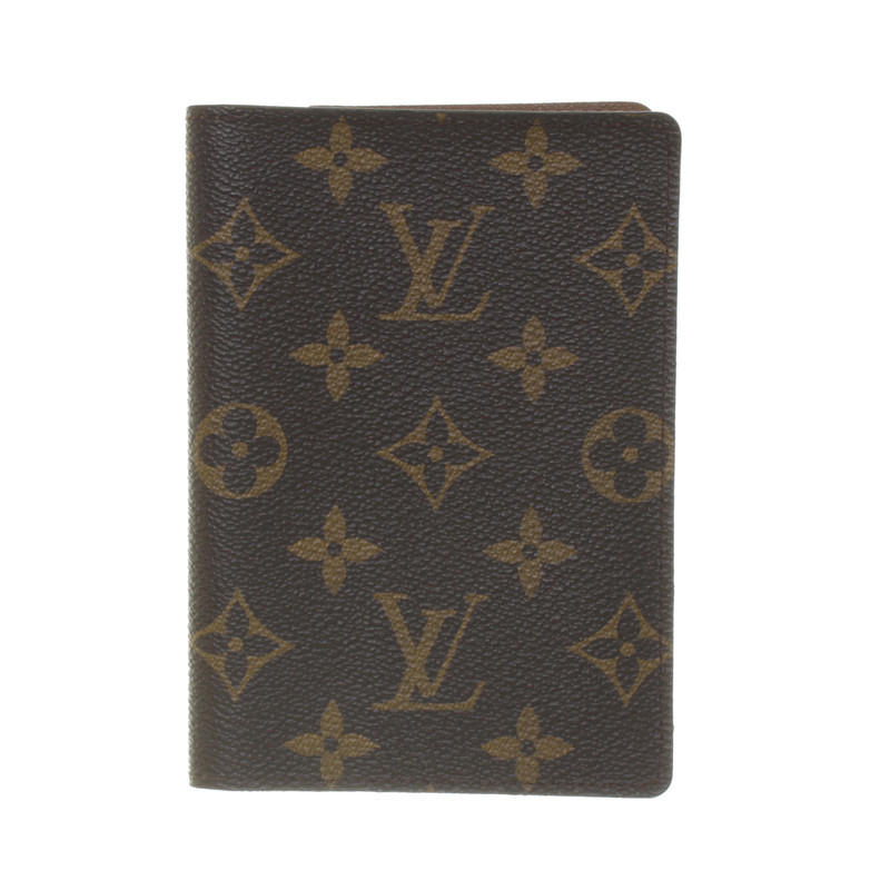 louis vuitton reisepassh lle monogram canvas second hand louis vuitton reisepassh lle monogram. Black Bedroom Furniture Sets. Home Design Ideas