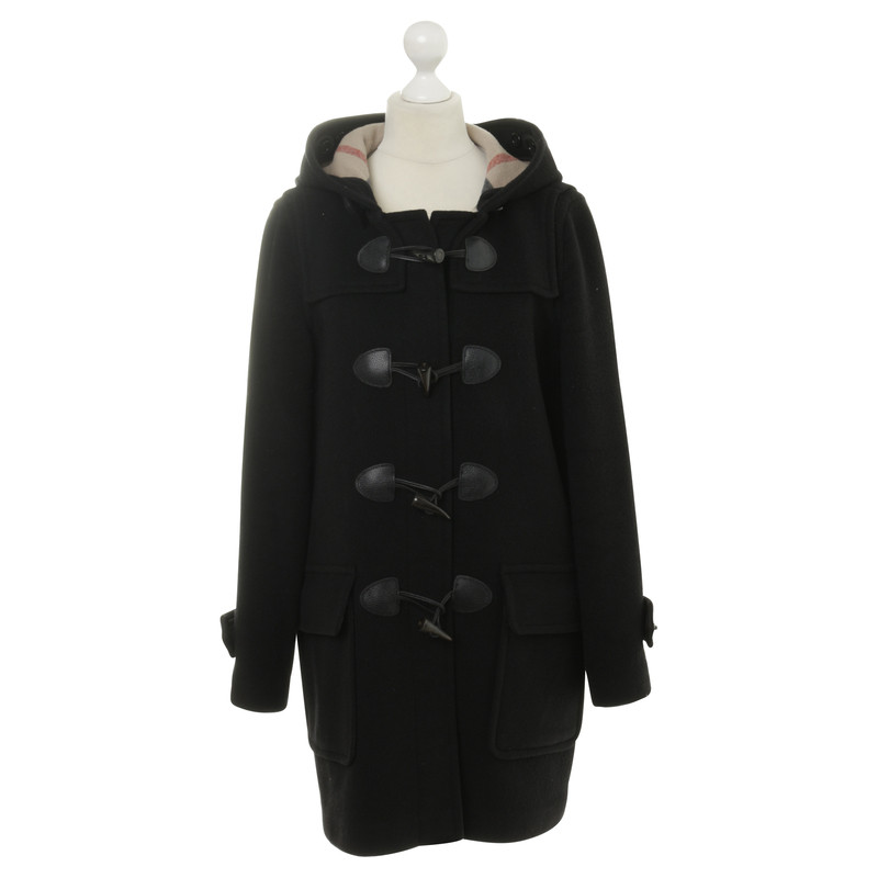 Burberry Duffle coat in black