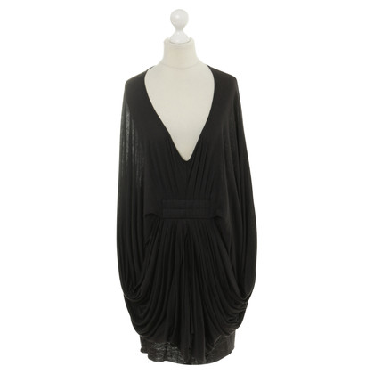 All Saints Black dress with batwing sleeves