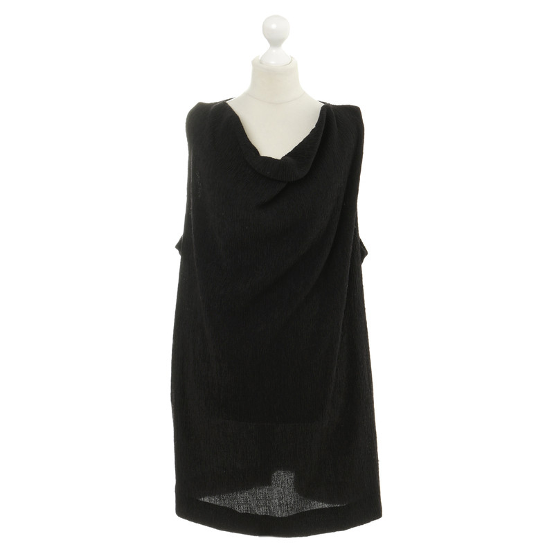 Ganni Dress in Crêpe-
