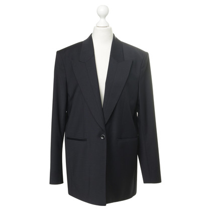 Filippa K Lou Cool Wool Jacket in dark navy