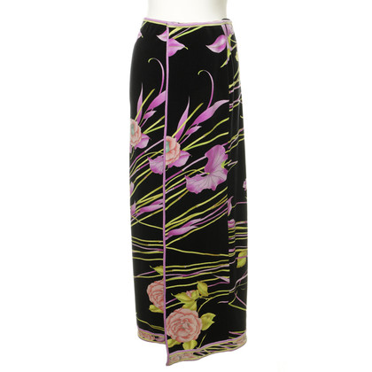 Leonard skirt with a floral pattern