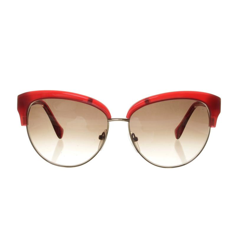 Emilio Pucci Cat eye in red