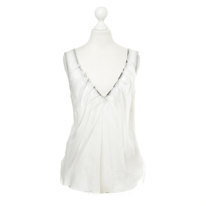 Nina Ricci Top with silk layer