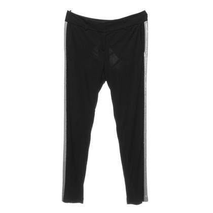 Luisa Cerano Pantalone nero con dettaglio di paillettes