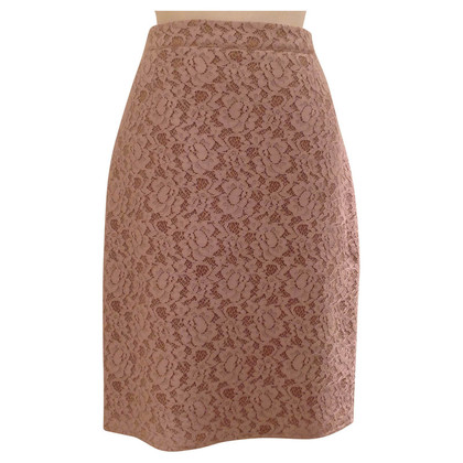 Lanvin Lace skirt in dusty pink
