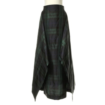 Pauw Silk skirt with plaid pattern