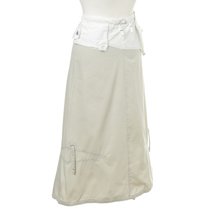 Marithé et Francois Girbaud skirt embellished bags