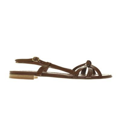 Schumacher Patent strappy sandals