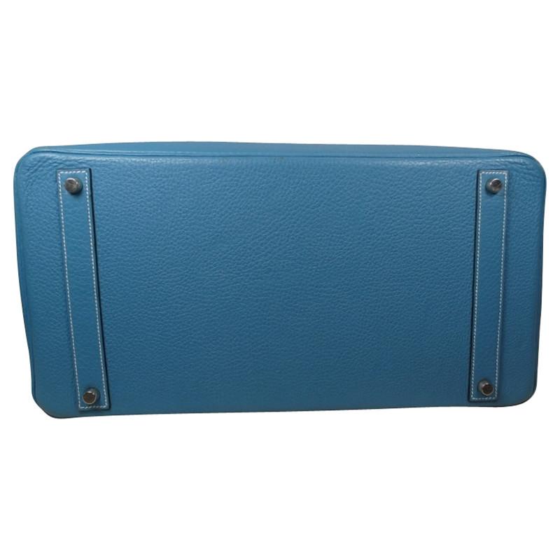 ea852d9b31 ... greece hermès birkin bag 40 blue jean togo leather 8059a 745ba promo  code hermes birkin 35 tote ...