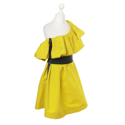 Lanvin for H&M One-shoulder dress in yellow