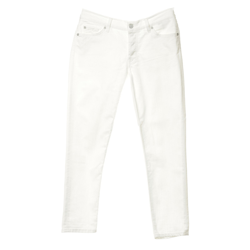 7 For All Mankind Jeans in wit