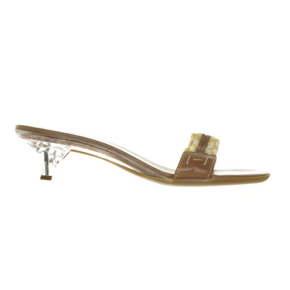 Hogan Sandal with Wicker motif