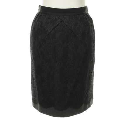 Louis Vuitton Rock mit Spitzen-Layer
