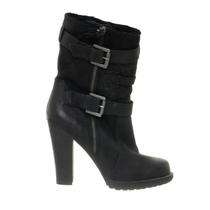 Other Designer Luxury rebel - black Sheepskin boots