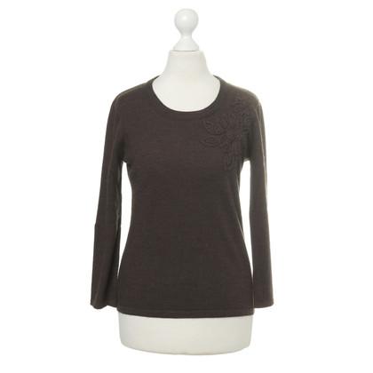 Rena Lange Stick-detail knit pullover